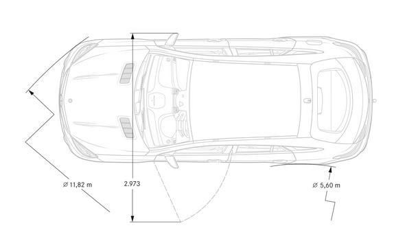 Mercedes-AMG GLE Coupé (C 292) 2015, Maßzeichnung, dimension drawing