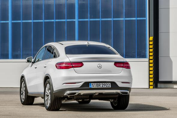 GLE 350 d 4MATIC (C 292), Exterieur: Designo Diamantweiß Bright, exterior: designo diamond white bright