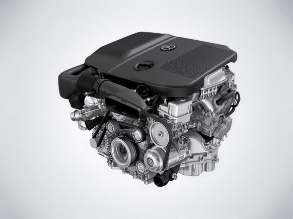 Mercedes-Benz GLC. 4-Zylinder Dieselmotor, OM651 4-cylinder diesel engine, OM651