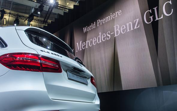 Weltpremiere: Der neue Mercedes-Benz GLC, Metzingen 2015 World Premiere: The new Mercedes-Benz GLC, Metzingen 2015