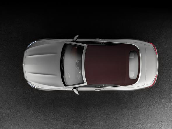 Mercedes-Benz S-Klasse Cabrio ( A 217 ) 2015. S 500 mit AMG-Line, Alanitgrau magno, Leder bengalrot/schwarz, Verdeck rot.