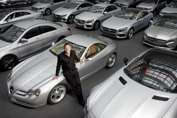 Gorden Wagener - Vice President Design Daimler AG (Fotograf: Michael Dannenmann)