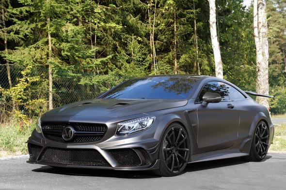 IAA MANSORY BLACK EDITION Coupe front