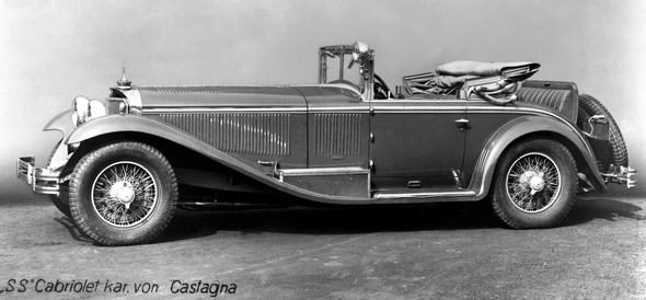 Mercedes-Benz Typ SS, 27/170/225 PS, Cabriolet, Bauzeit: 1928 bis 1934.