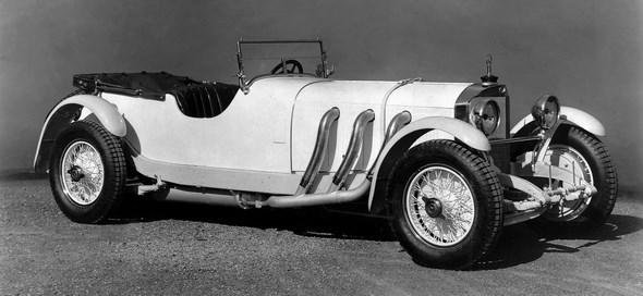 Mercedes-Benz Typ SS, 27/170/225 PS, Sport-Viersitzer, Bauzeit: 1928 bis 1934.