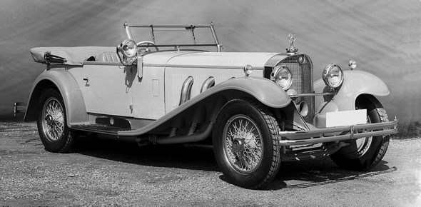 Mercedes-Benz Typ SS, 27/170/225 PS, Tourenwagen, Bauzeit: 1928 bis 1934.
