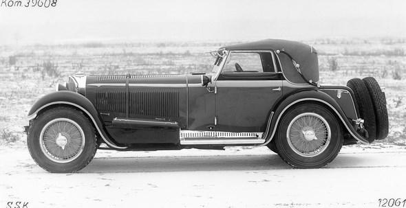 Mercedes-Benz Typ SSK, Cabriolet A, Bauzeit: 1928 bis1932.