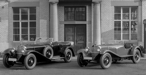 Mercedes-Benz Typ SSK, 27/170/225 PS, Sportwagen, Baujahr: 1928 bis 1930.