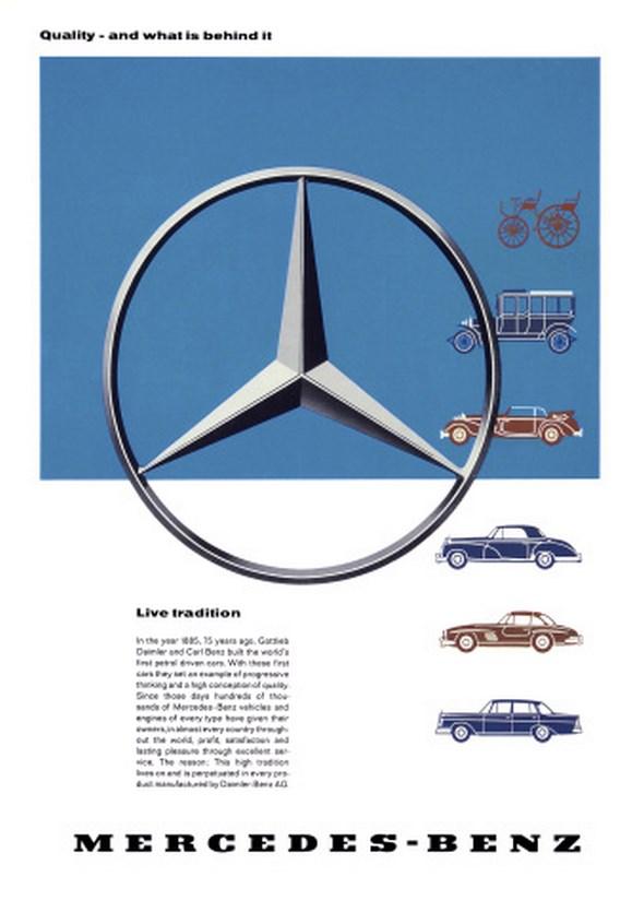 Advertising Passenger Cars 1960