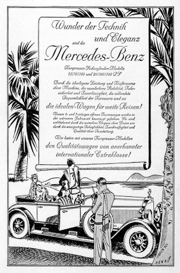 Werbeanzeigen Pkw 1926/1927