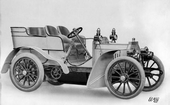 Daimler Typ Mercedes 8/11 PS