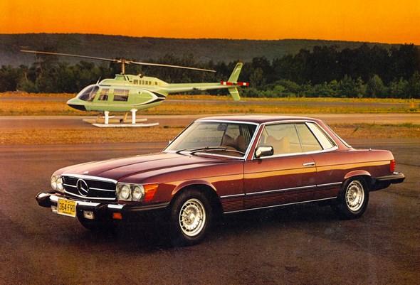 Mercedes-Benz Typ 450 SLC-Coupé, USA-Ausführung, Modelljahr 1978.