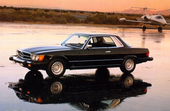 Mercedes-Benz Typ 380 SLC-Coupé; USA-Ausführung, Modelljahr 1981