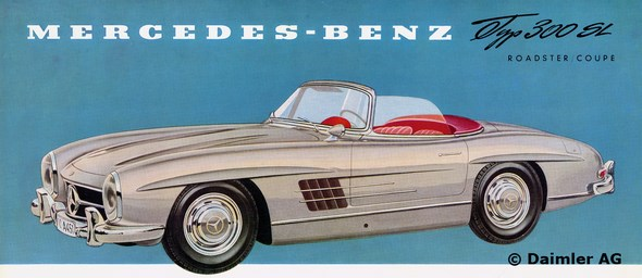 Mercedes-Benz Typ 300 SL Roadster