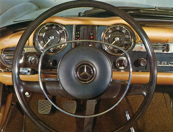 Mercedes-Benz Typ 280 SL der Baureihe W 113