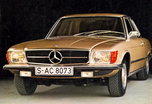 Mercedes-Benz Typ 350 SLC-Coupé, 1972-80