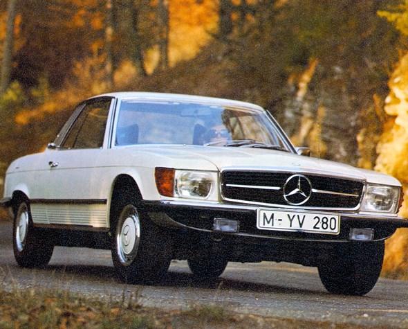 Mercedes-Benz Typ 350 SLC-Coupé, 1972-80