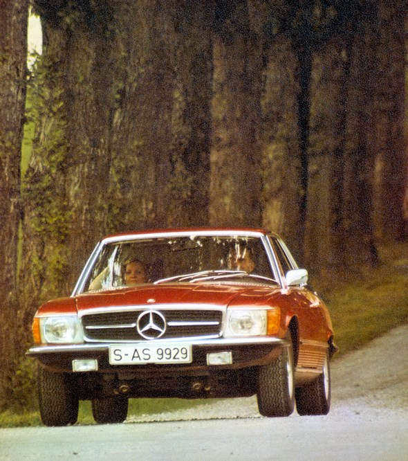 Mercedes-Benz Typ 280 SLC-Coupé, 1974-80
