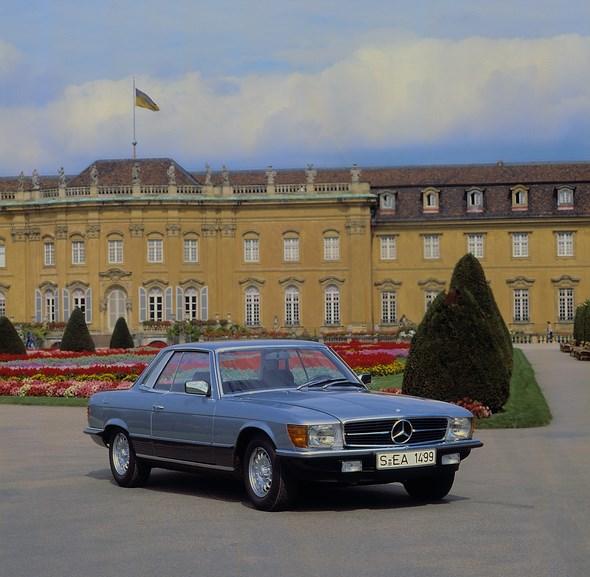 Mercedes-Benz Typ 500 SLC der Baureihe 107