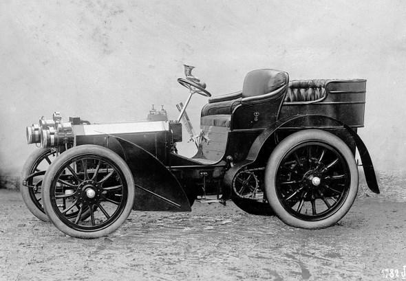Mercedes 35 PS, 1901