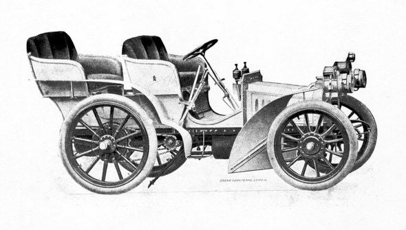 Mercedes 8/11 PS, 1901