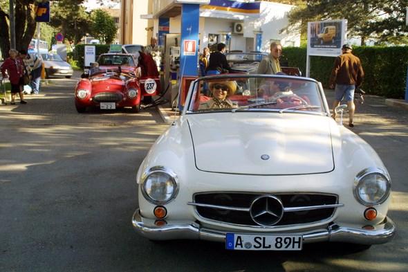 Mercedes-Benz Typ 190 SL der Baureihe W 121.