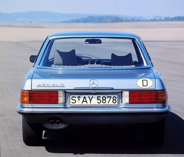 Mercedes-Benz Typ 450 SLC der Baureihe 107.