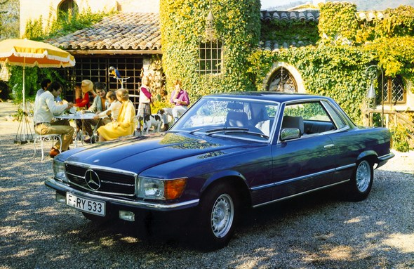 Mercedes-Benz Typ 380 SLC-Coupé, 1980-81.