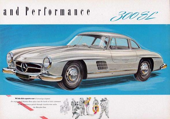 Mercedes-Benz Typ 300 SL.