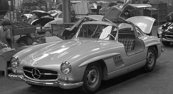 Mercedes-Benz Typ 300 SL der Baureihe W 198.