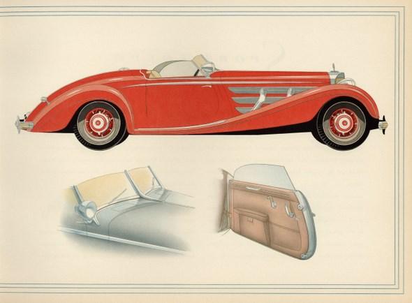 Typ 540 K (W 29), Katalog, Januar 1938