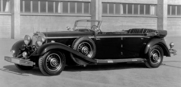 Typ 540 K lang, Tourenwagen, 1936