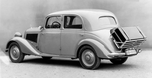 Mercedes-Benz Typ 170 V, 38PS, Kraftdroschke, Limousine, Bauzeit: 1936 - 1942.