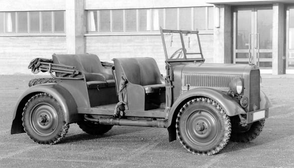 Mercedes-Benz Typ 170 VL, 38 PS, Kübelsitzwagen, Bauzeit: 1936.