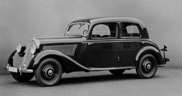 Mercedes-Benz Typ 170 V, 38PS, Limousine, Bauzeit: 1936 - 1942.
