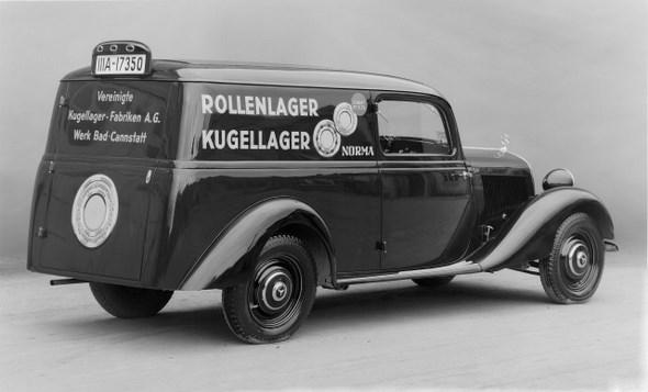 Mercedes-Benz Typ 170 V, 38PS, Lieferwagen, Bauzeit: 1936 - 1942.