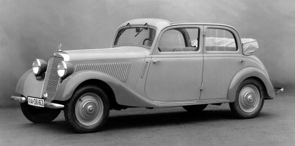 Mercedes-Benz Typ 170 V, 38PS, Cabrio-Limousine, Bauzeit: 1936 - 1942.