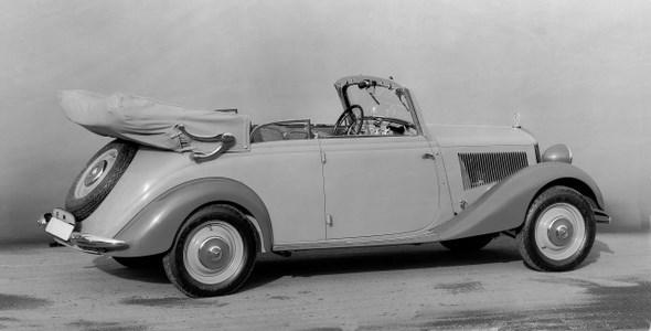 Mercedes-Benz Typ 170 V, 38PS, Cabriolet B, Bauzeit: 1936 - 1942.