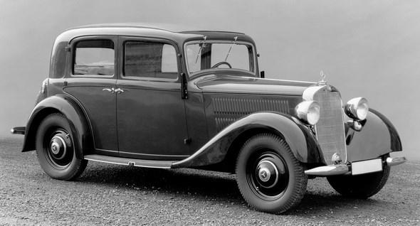 Mercedes-Benz Typ 230 n Limousine, 1937