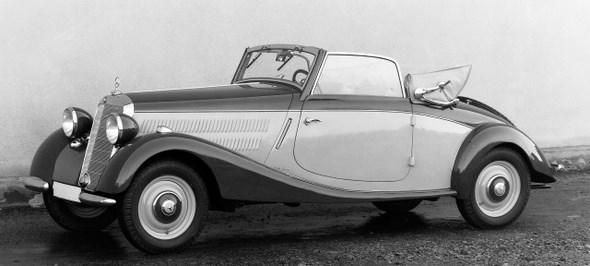 Mercedes Benz Typ 170 V, 38 PS, Cabriolet A, Bauzeit: 1936 bis 1942.