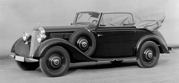 Mercedes-Benz Typ 230 n Cabrio C, 1937