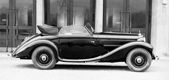 Mercedes-Benz Typ 320n, 78 PS, Kombinationswagen, Bauzeit: 1937 bis 1938.