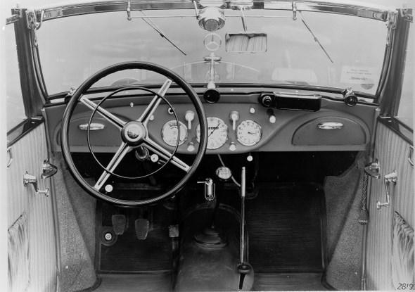 Mercedes-Benz Typ 170 V Cabriolet B, 38 PS, Bauzeit: 1936 - 1942.