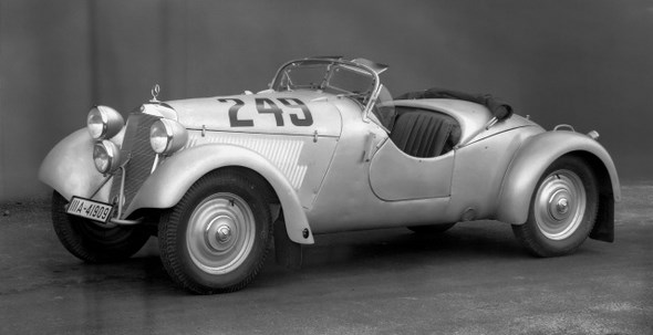 Mercedes-Benz Typ 170 VS, 50PS, Geländesport-Zweisitzer, Bauzeit: 1938 - 1939.