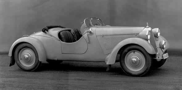 Mercedes-Benz Typ 230 SV Geländesportwagen, 1938.