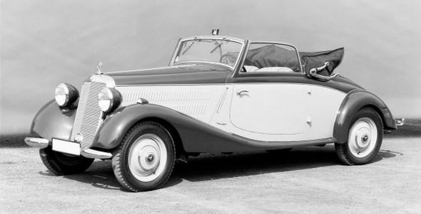 Mercedes-Benz Typ 170 V, 38PS, Cabriolet A, Bauzeit: 1936 - 1942.