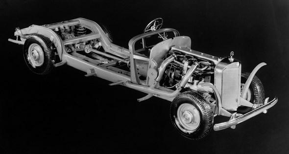 Typ 770, Fahrgestell