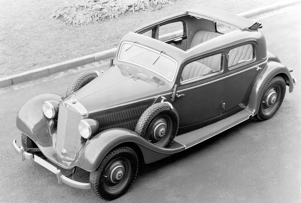Mercedes-Benz Typ 320, 78 PS, Limousine, Bauzeit: 1937 bis 1942.