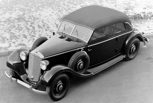 Mercedes-Benz Typ 320, 78 PS, Cabriolet B, Bauzeit: 1937 bis 1942.