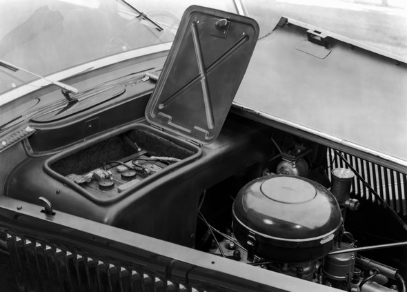Mercedes-Benz Typ 230, 55 PS, Cabriolet B, Bauzeit: 1938 bis 1943.